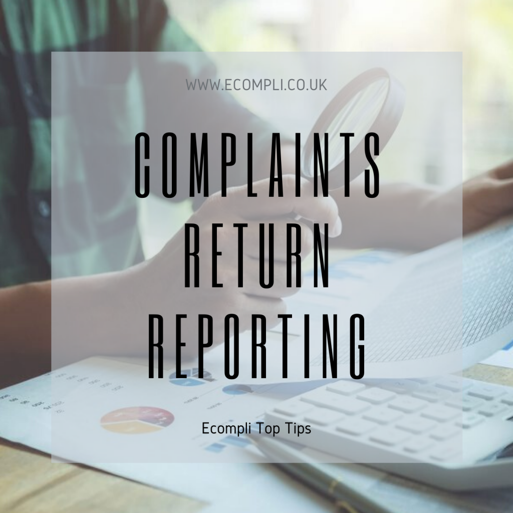 FCA Complaints Return Reporting