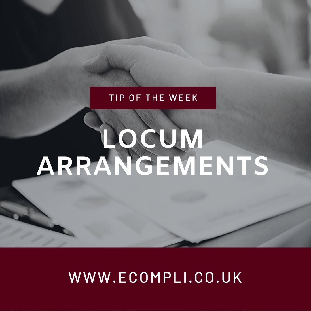 Ecompli - FCA Locum Arrangements