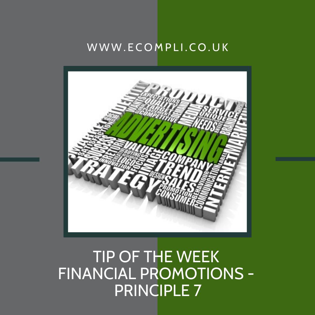 Ecompli - FCA Financial Promotions