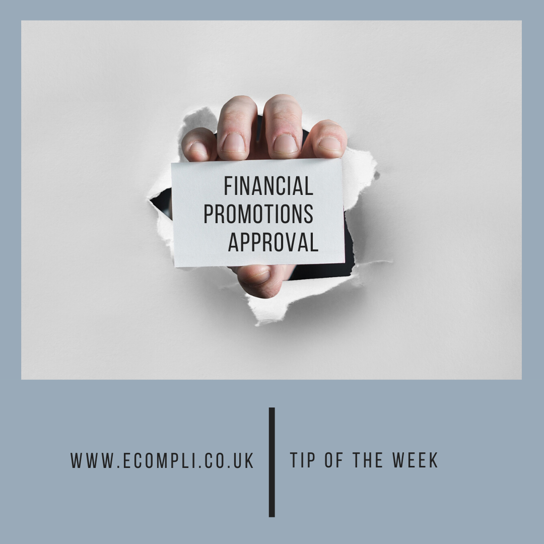 Ecompli - FCA Financial Promotions Approval