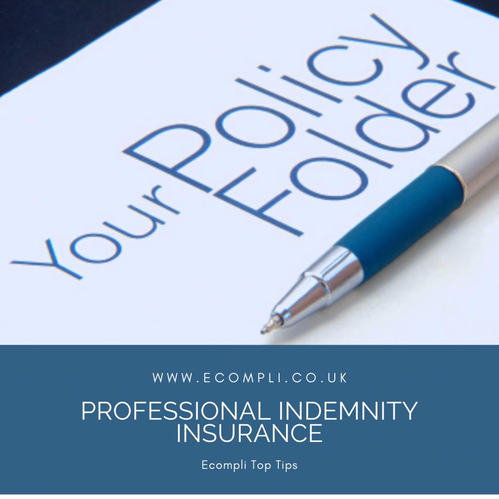 Ecompli - FCA Professional Indemnity Insurance