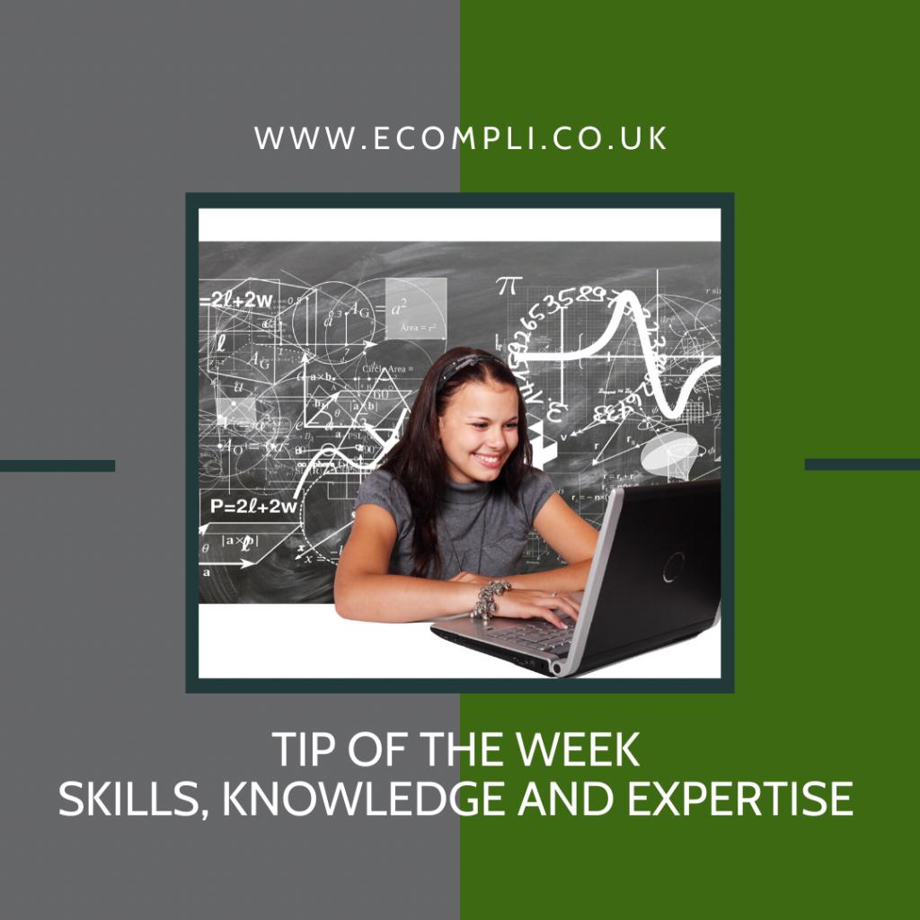 Ecompli - FCA Skills, Knowledge & Expertise